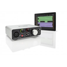 FOCUSRITE ITRACK SOLO LIGHTNING, 2-KANALS LYDKORT FOR IPAD, PC OG MAC