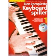 Den komplette keyboard spiller 1 Rev. m/CD NORSK