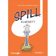 Spill Klarinett 1 - lærebok m/CD - Rita Kvalnes - Elisabeth Vannebo