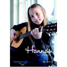 Hannas Gitarbok m/CD - Tore Jarl Bråten - Gitarskole for barn
