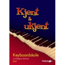 Kjent og ukjent - Keyboardskole for barn av Hildegunn Johansen