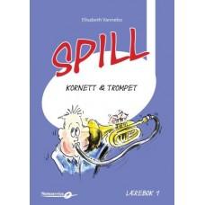 Spill Trompet 1 - bok m/CD - Elisabeth Vannebo