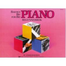 Bastien Bit for bit Begynnerbok Pianoskole Norsk utgave