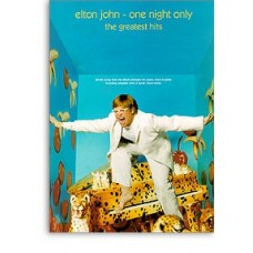 Elton John: One Night Only - The Greatest Hits - Piano/vocal/guitar Grade 3 (0-5)