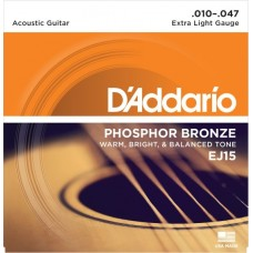 D'Addario EJ15 Extra Light.