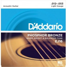 D'Addario EJ16 Light.