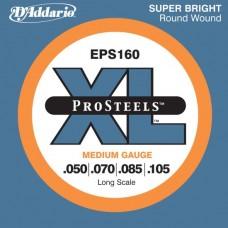 D'Addario EPS160 Medium/Long Scale 050 070 085 105
