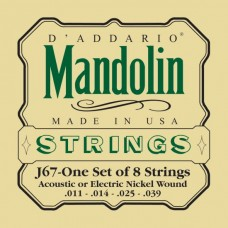 D'Addario EJ67 Medium Mandolin