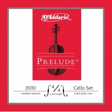 D'Addario J1010 4/4M Prelude cello set.