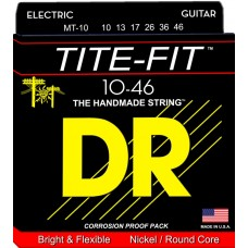 DR Tite-Fit Nickel Plated Electric: 11, 14, 18, 28, 38, 50, Extra Heavy