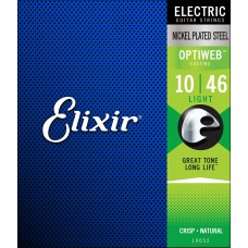ELIXIR OPTIWEB ELECTRIC Strengesett 10-46 Light