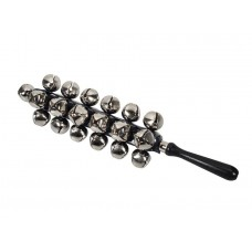 Hayman sleigh bells with wooden handle HB-140