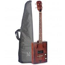 JN Guitars Cask Hogshead Cigarbox m/bag