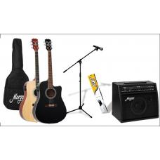 MORGAN Gitar pakke for den nye trubadur
