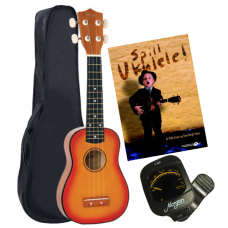MORGAN UK 100 ukulele pakke
