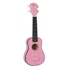MORGAN UK S 100 PINK W/BAG Ukulele