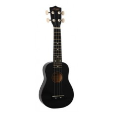 MORGAN UK S 100 BLK W/BAG Ukulele