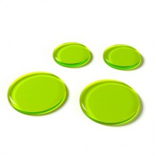 SlapKlatz - 4 Gel Pads - Alien Green