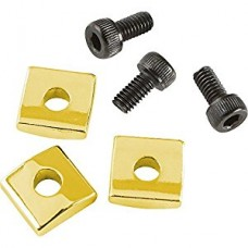 Allparts Gold Nut Blocks with Screws
