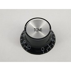 Allparts Black Tone Reflector Knobs