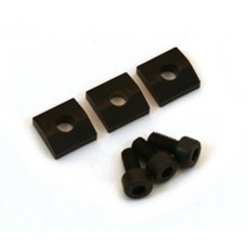 Allparts Black Nut Blocks with Screws