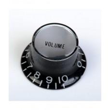 Allparts Black Volume Reflector Knobs