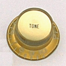 Allparts Gold Tone Reflector Knobs