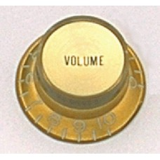 Allparts Gold Volume Reflector Knobs