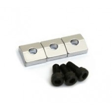 Allparts Chrome Nut Blocks with Screws