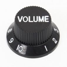 Allparts Black Volume Knobs
