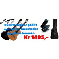 MORGAN CG 09  Klassisk Gitar pakke.