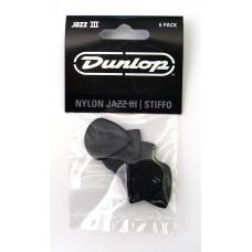 Dunlop Jazz III 47P3S Plekter 6 stk