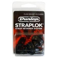 Dunlop Straplok SLS 1403BK Sort Flush