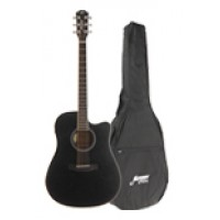 MORGAN GP W 11 CE BK Gitarpakke