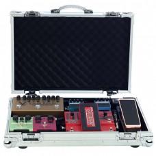 RockCase Professional Flightcase Effects Pedalboard 57.5 x 37 x 10 cm Silver Alu