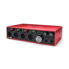 FOCUSRITE SCARLETT 18I8 GEN3 USB-LYDKORT, 18 INN/8 UT
