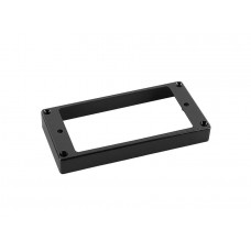 Boston HFS110120BK humbucker frame. flat bottom slanted top. 11x120mm. black