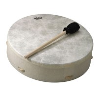 Remo Standard Buffalo Drum 14'' x 3.5'', White