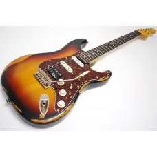Vintage Guitars Icon V6 Electric Guitar - Sunburst ( brukt )