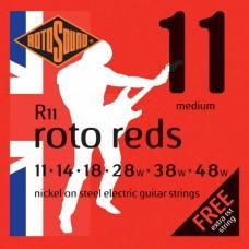 Rotosound R11 Roto Reds – Medium 11-48