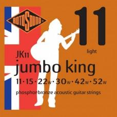 Rotosound JK11 Jumbo King Acoustic  Light 11-52