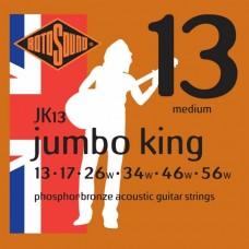 Rotosound JK13 Jumbo King Acoustic  Medium 13-56