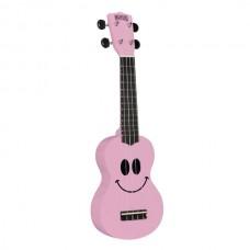 Mahalo Smile Ukulele Pink inkl. bag