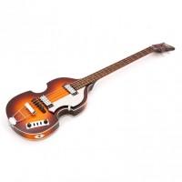 Hofner Violin Bass  Ignition  sunburst med HofnerTweed Style Case
