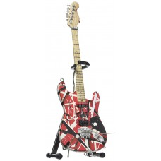 Miniature guitar Eddie Van Halen frankenstein