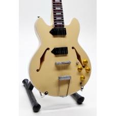 Miniature guitar Epiphone casino John Lennon