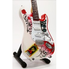 Miniature guitar Fender Jimi Hendrix Monterey Stratocaster