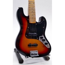 Miniature guitar Fender BASS SUNBRUSH
