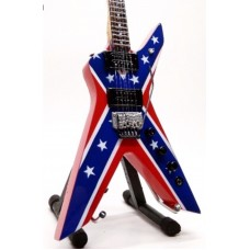 Miniature guitar Dean Dimebag Dixie Rebel