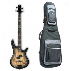 IBANEZ GSR200SM-NGT NATURAL GREY BURST med gig bag